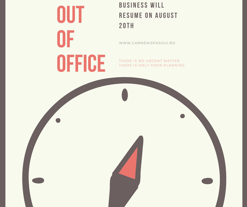 Out of the Office